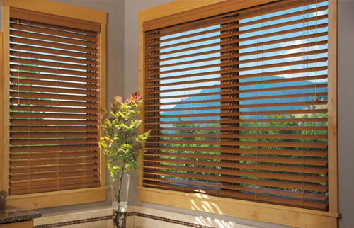 Hunter Douglas Everwood TruGrain Alternative Wood Blinds